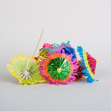 einfach Süß: Dekoschirmchen
