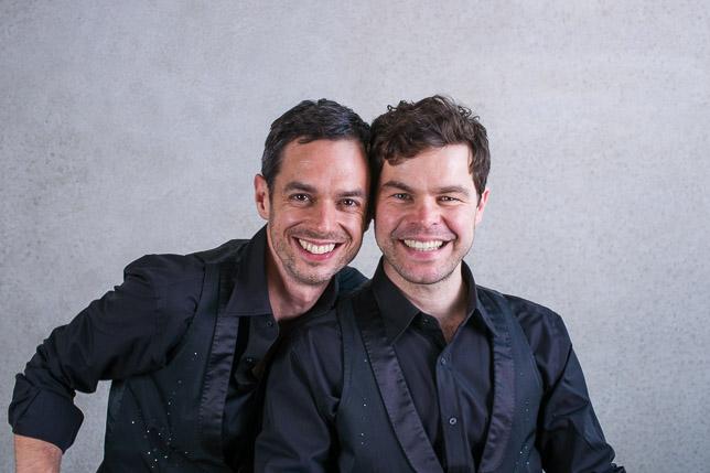 Lutz Petrick und Moritz Piefke