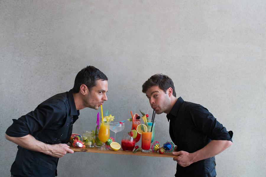 Lutz und Moritz die Showbarkeeper
